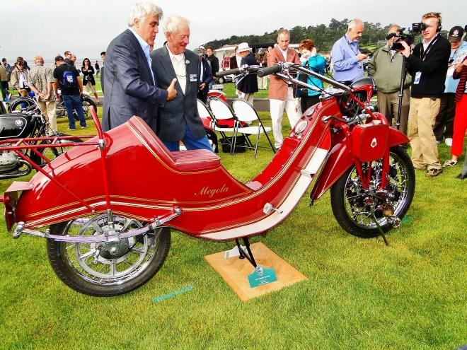 Jay Leno and Megola Motorcycle