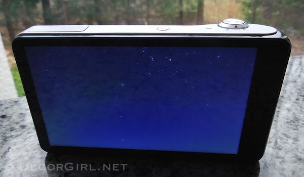Samsung Galaxy Camera HD touch screen