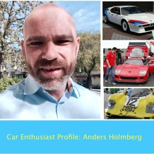 Car Enthusiast Profile Anders Holmberg