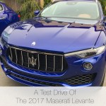 A Test Drive Of The 2017 Maserati Levante