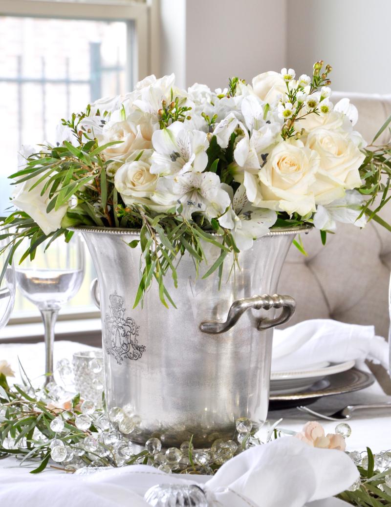 Elegant Valentines Day Dinner Party Decor Gold Designs