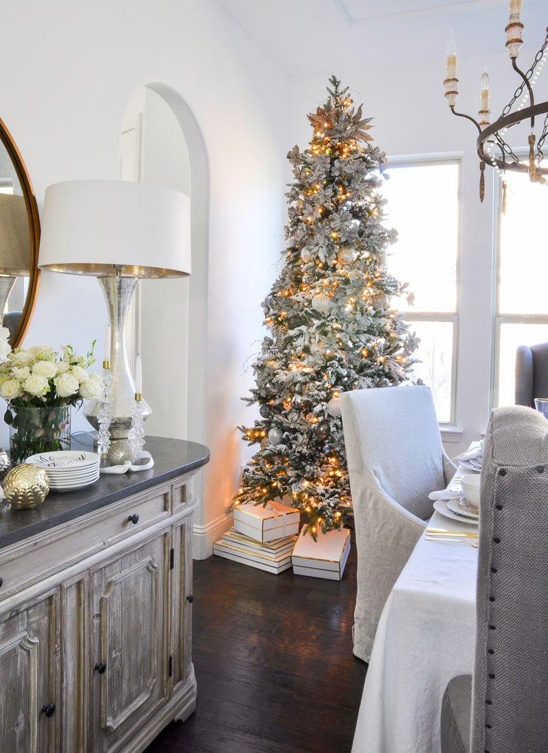 Elegant Traditional Christmas Dining Room By Decor Gold Designs