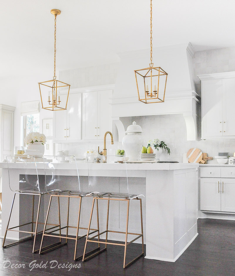 Ideas for Kitchen Counter Styling - Decor Gold Designs on Kitchen Countertop Decor  id=84793