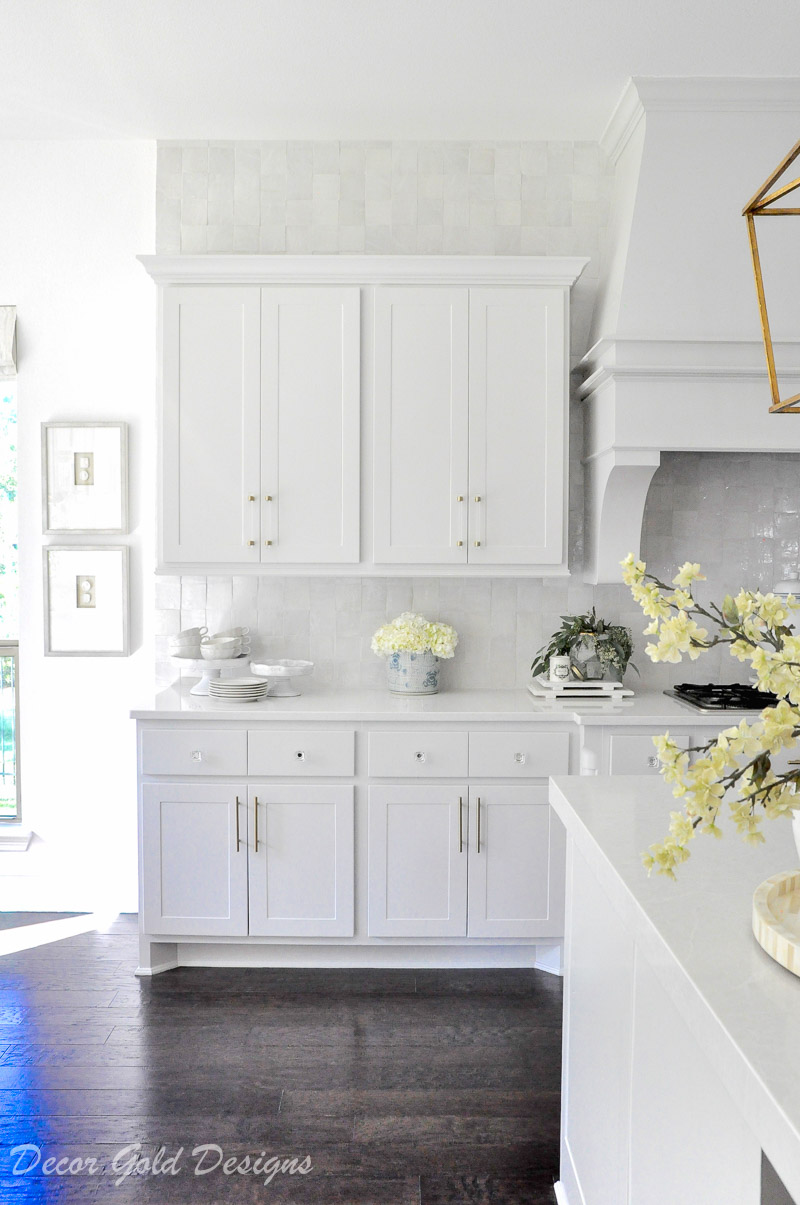 Ideas for Kitchen Counter Styling - Decor Gold Designs on How To Decorate A Kitchen Counter  id=49073