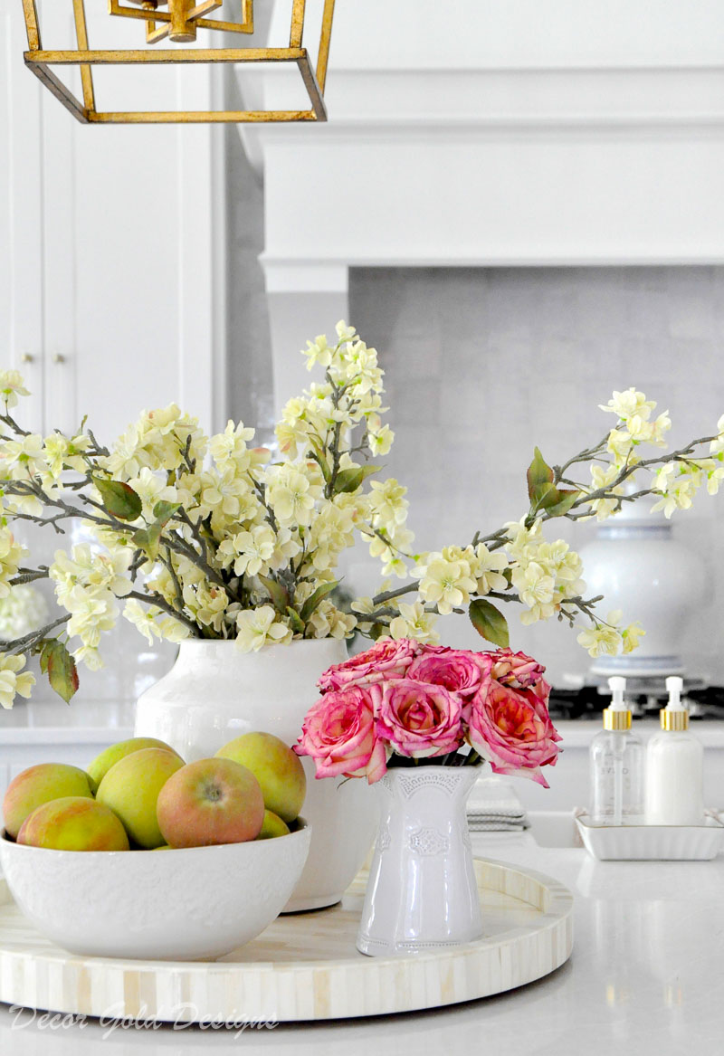 Ideas for Kitchen Counter Styling - Decor Gold Designs on Countertop Decor  id=55188