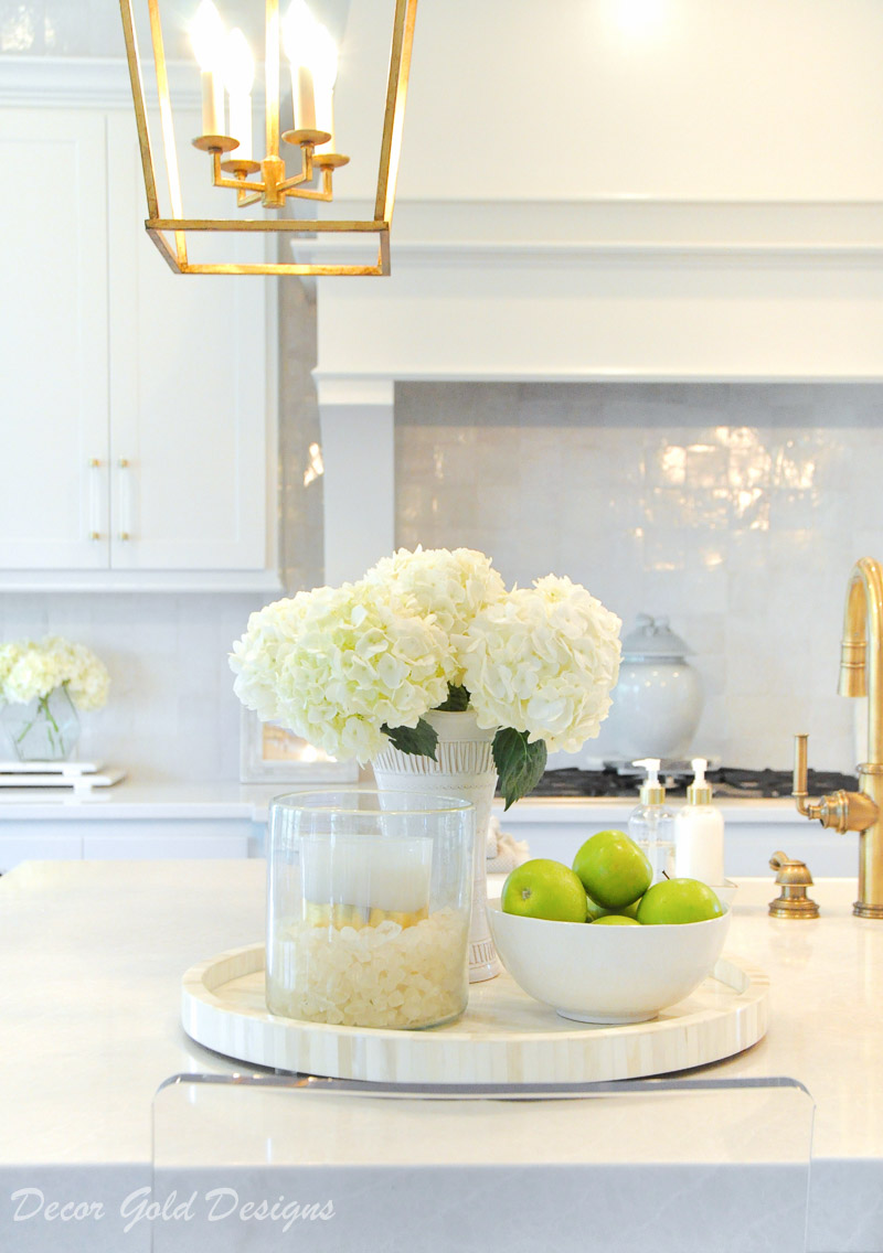 Ideas for Kitchen Counter Styling - Decor Gold Designs on Countertop Decor  id=98322