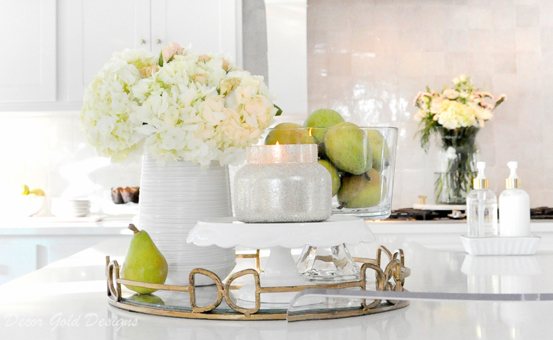 Ideas for Kitchen Counter Styling - Decor Gold Designs on Countertop Decor  id=28408