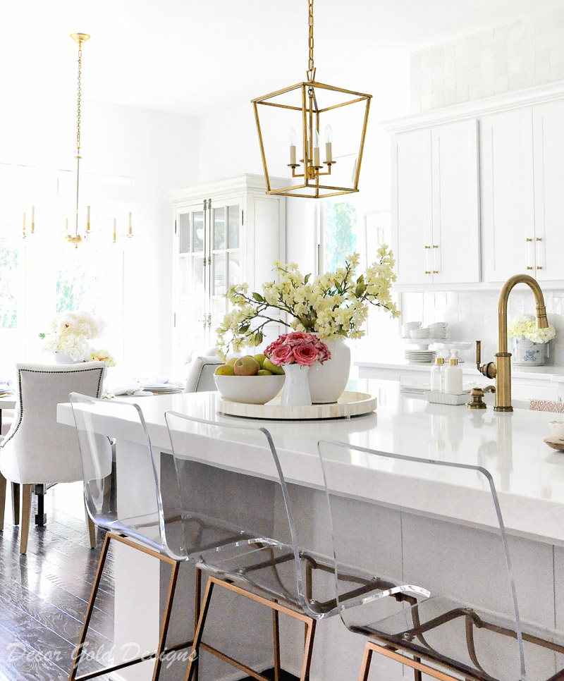 Ideas for Kitchen Counter Styling - Decor Gold Designs on Kitchen Counter Decor  id=35422