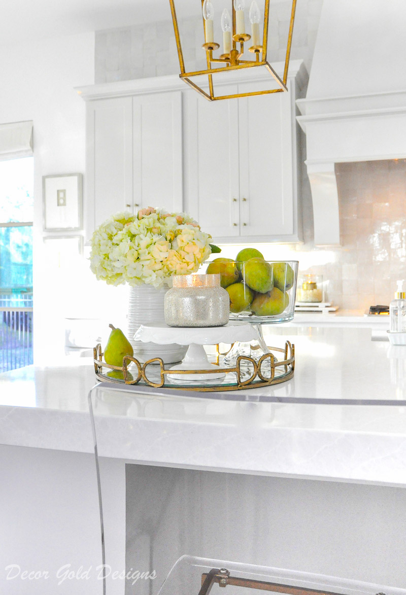 Ideas for Kitchen Counter Styling - Decor Gold Designs on Countertop Decor  id=61155