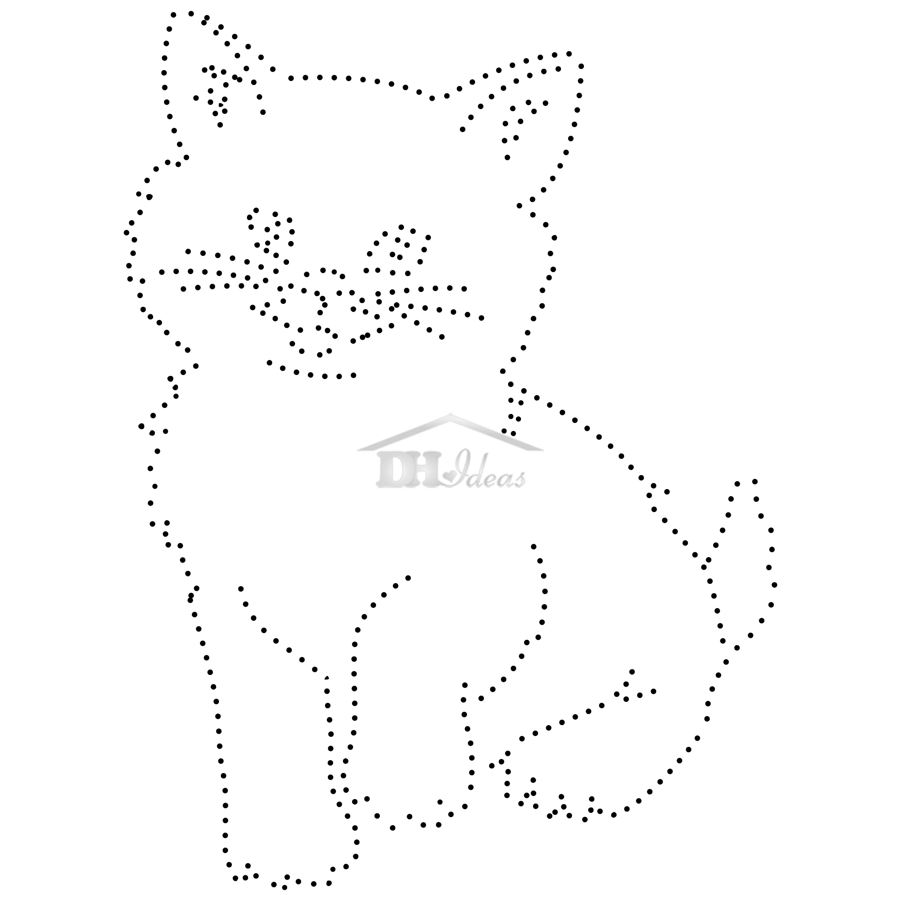 30 Free Printable String Art Patterns Direct Download