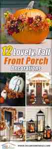 15 Lovely Fall Front Porch Decorating Ideas Decor Home Ideas