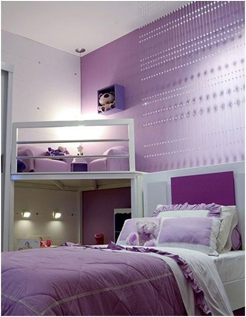 17 Unique Purple Bedroom Ideas For Teenage Girl | Decor ... on Teenage Bedroom Ideas  id=86687