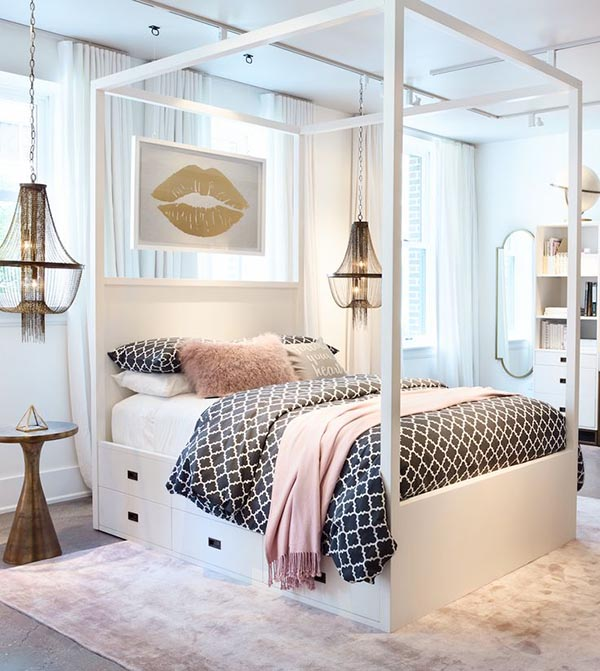 31 Cute Bedrooms For Teenage Girl You'll Love | Decor Home ... on Teen Room Girl  id=79833