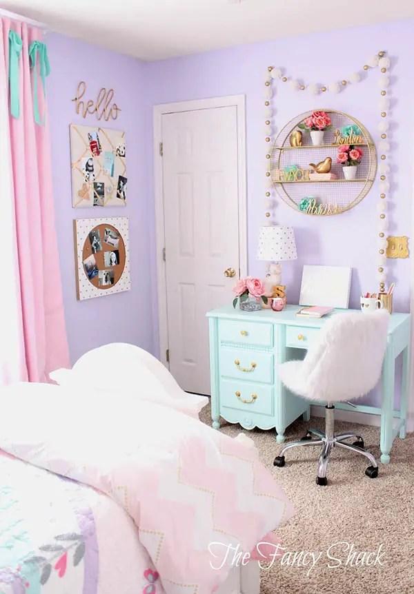 17 Unique Purple Bedroom Ideas For Teenage Girl | Decor ... on Girls Room Decoration  id=33132