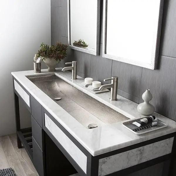 trough bathroom sink buying