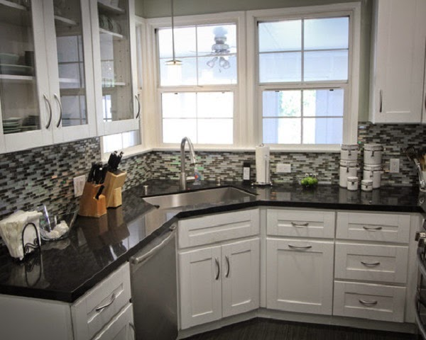 20 best corner kitchen sink designs for