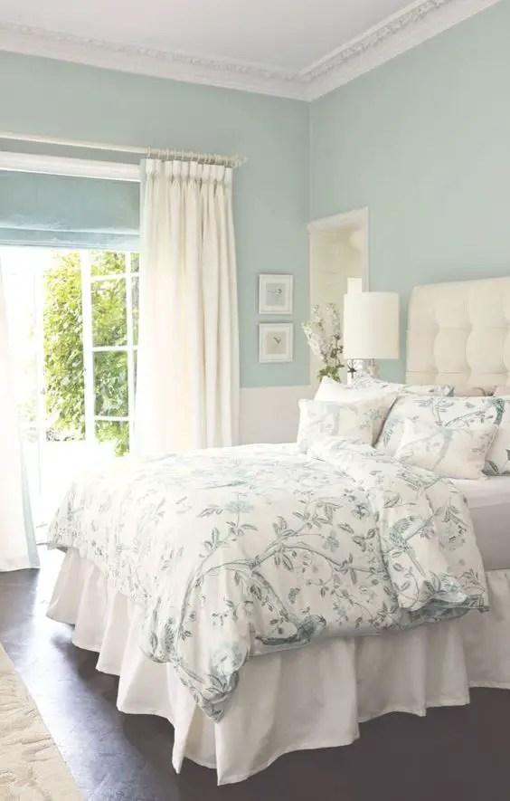 Màu xanh biển trong phòng ngủ # màu sơn # màu xanh lá cây # màu sơn # màu sơn # màu nền