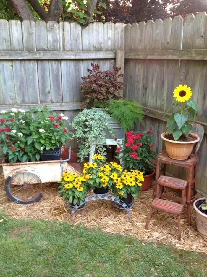 28 Beautiful Corner Garden Ideas and Designs | Decor Home ... on Backyard Decor Ideas  id=20363