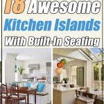 18 Awesome Kitchen Islands With Built In Seating Decor Home Ideas