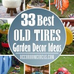 33 Amazingly Creative Ways To Transform Old Tires Into Garden Decor Decor Home Ideas
