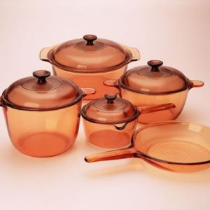 Visions 9 Pcs Covered Cookware Set VS-339