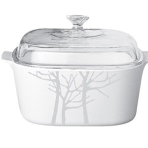 CorningWare 3L Covered Casserole Frost A-3-FT