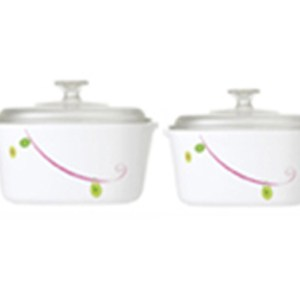 CorningWare 4pc Casserole Royal Sequins Set A-152-RQ