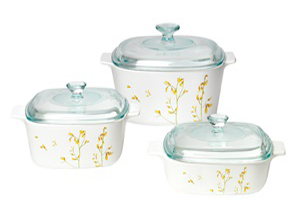 CorningWare 6pc Casserole Kobe Set A-140-KE