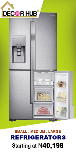 Buy Large Fridges and Freezers Online on www.decorhubng.com