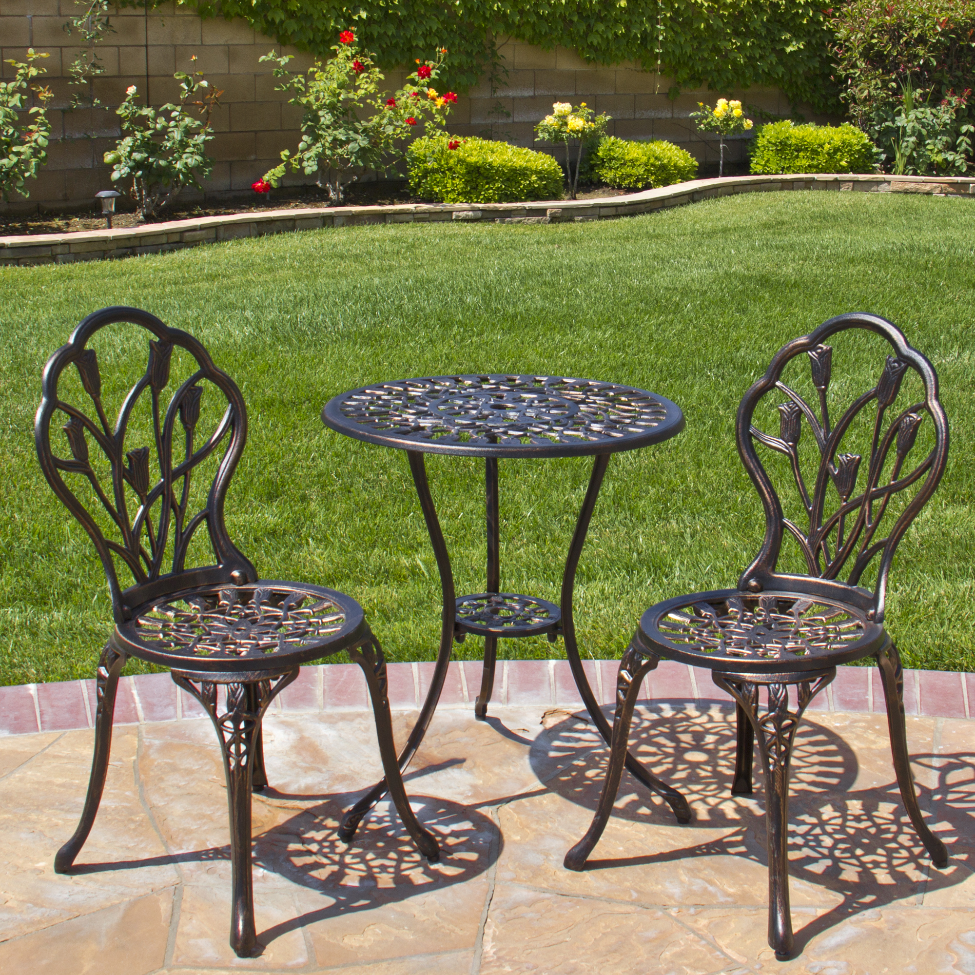 get the luxury of bistro patio set for
