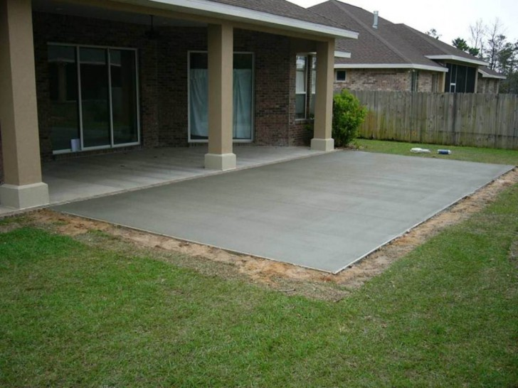 Concrete Patio Ideas to Choose from for your Compound ... on Simple Concrete Patio Designs id=27810