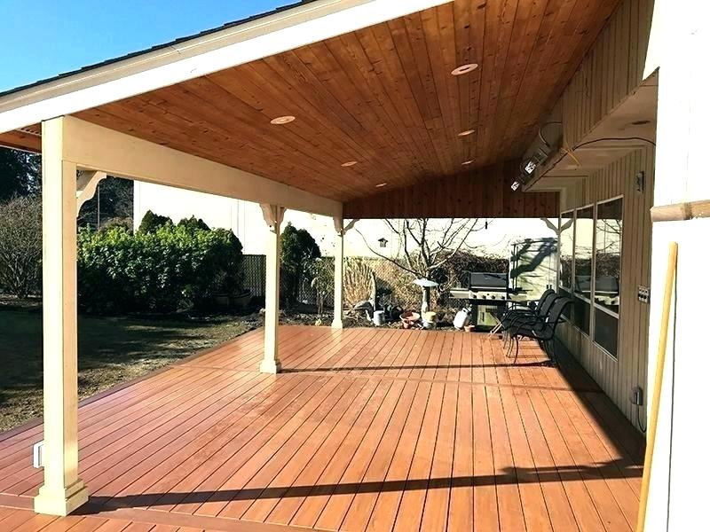 Different Types of a Beautiful Covered Patio Design ... on Backyard Patio Cover Ideas  id=97832