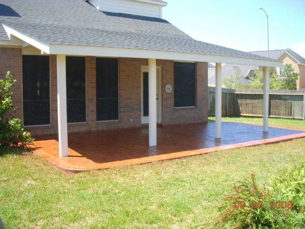 Make it a Functional and Decorative Patio Roof in your ... on Roof For Patio Ideas id=43602