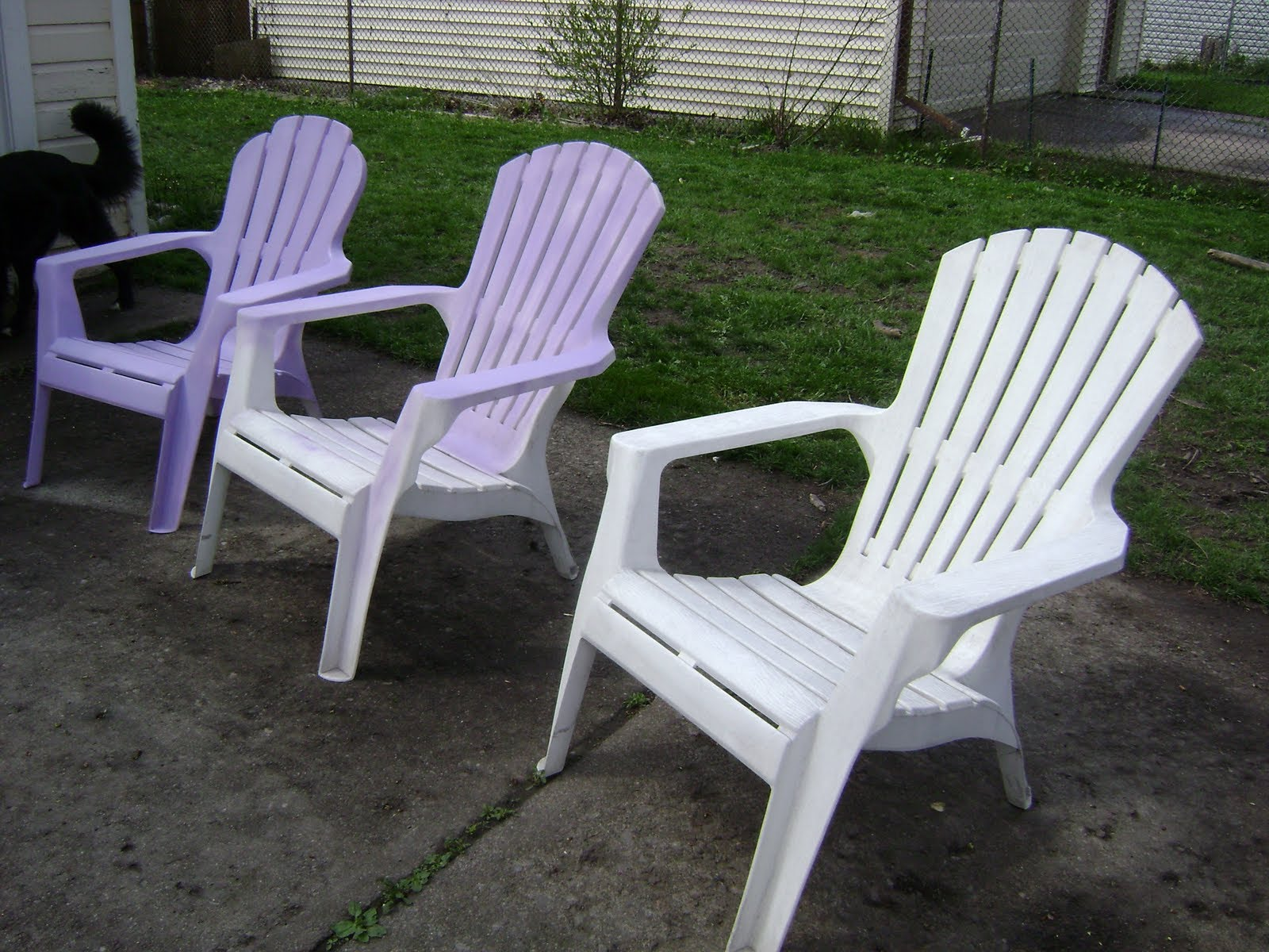uses of the plastic outdoor chairs