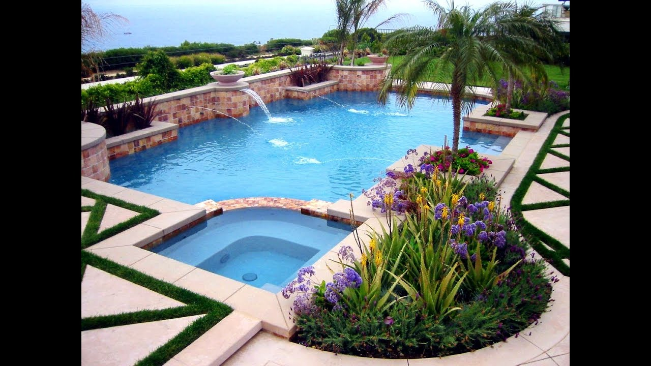 Pool Landscaping Is the Natural Way of Your Refreshment ... on Backyard Pool And Landscaping Ideas id=34735