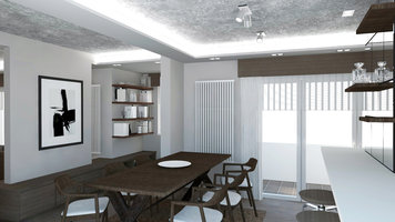 Interior design sample by Selma A  Dining Room Interior