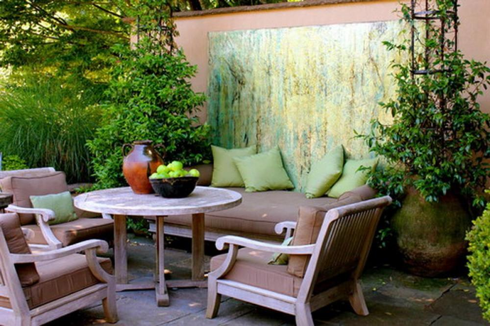 5 Small Patio Decor Ideas   Decorilla small patio contemporary design