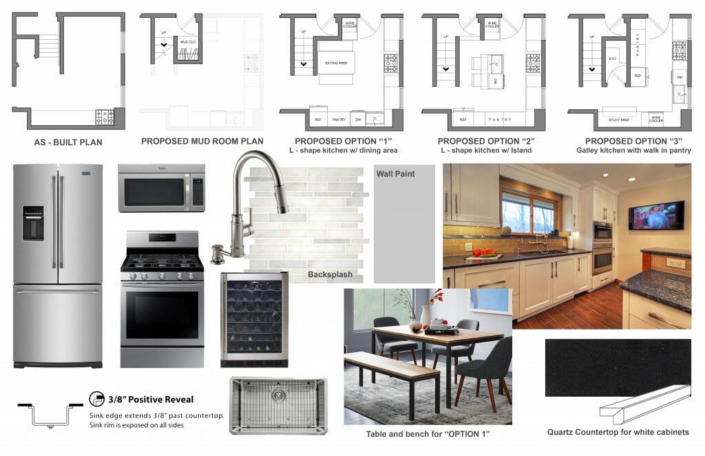 Online Kitchen Design Layout