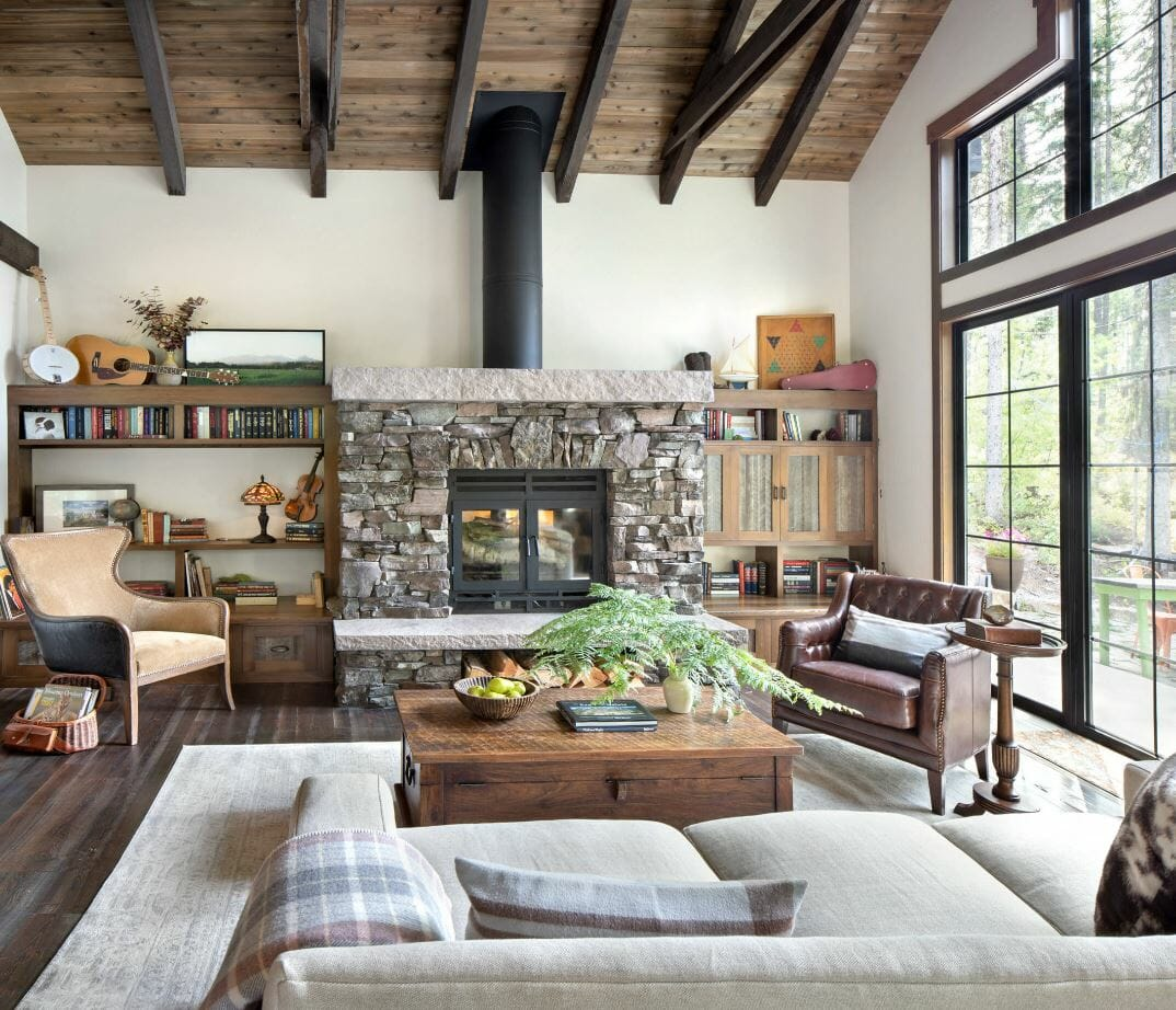 Modern Rustic Interior Design: 7 Best Tips To Create Your ... on Rustic Traditional Decor  id=62309