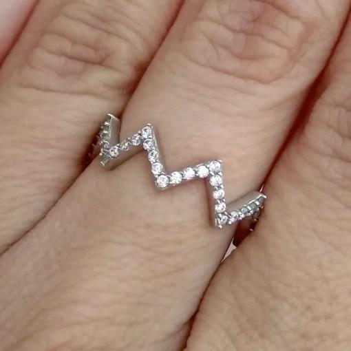 srebrni prsten sniženje