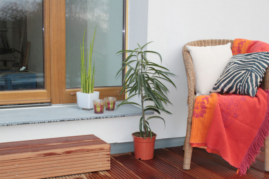 Preparar la terraza