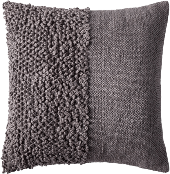 solid textured throw pillow project 62 gray