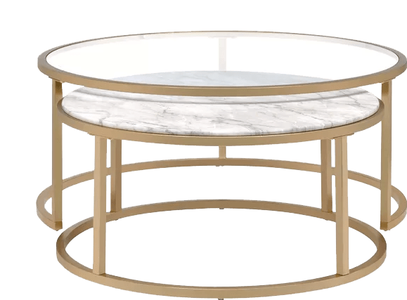 kellan 2 piece coffee table set with tray top