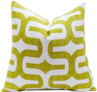 lime green throw pillow covers