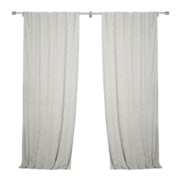 textured weave curtain blackout lining ivory