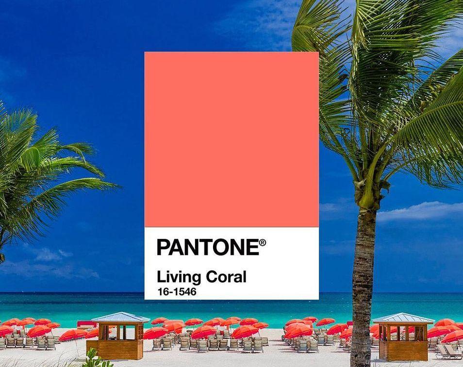 Kolor roku Pantone 2019 Living Coral