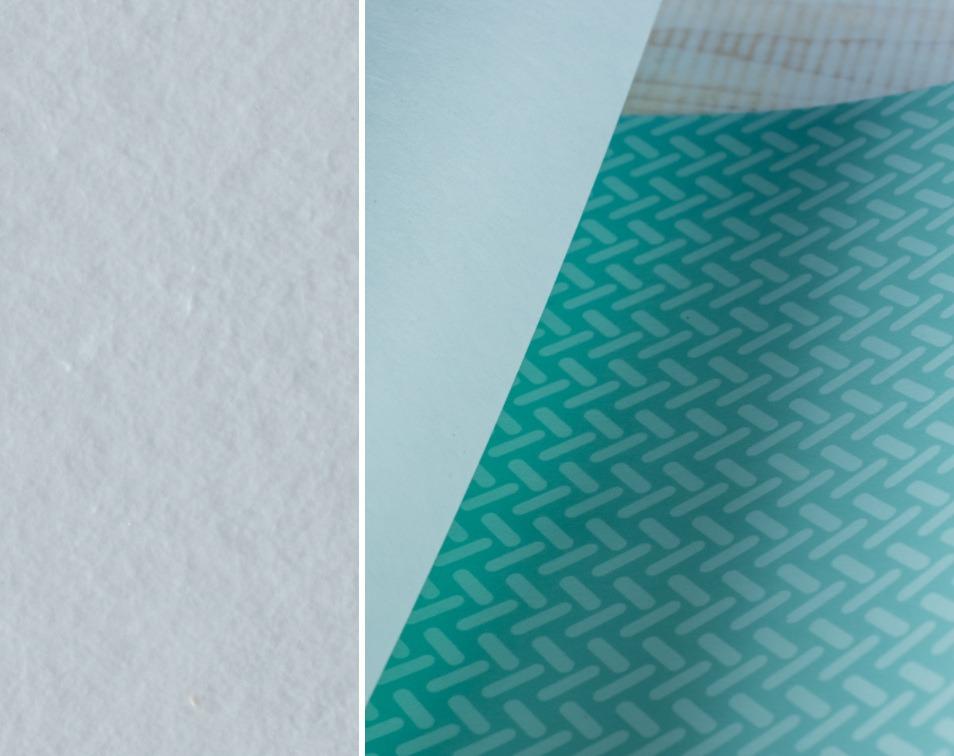 materiał tapet i fototapet flizelinowych