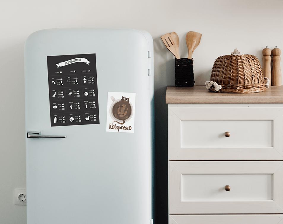 magnesy dekoracyjne na lodówkę i dekoracje do kuchni