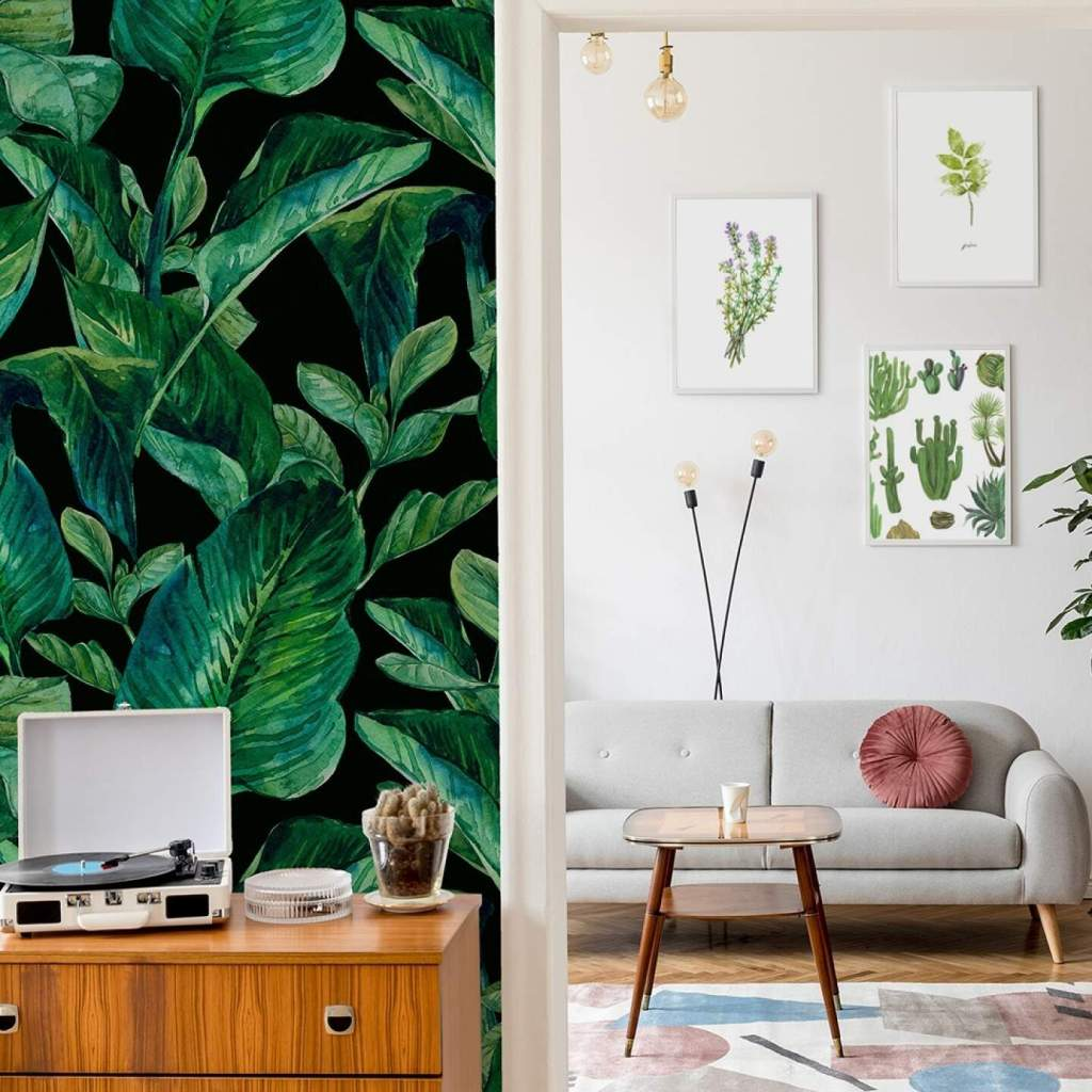 Wystrój salonu - tapeta- obrazy