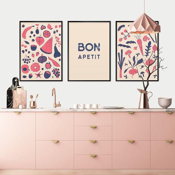 designerska-galeria-ścienna-do-kuchni